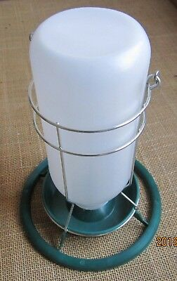 Aviary feeder / drinker for cage and aviary birds x 1