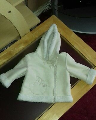 488f34d01f9c MAMAS AND PAPAS Baby Girl Jacket. 3-6 months - £5.99