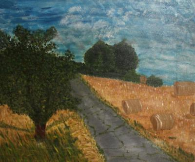 Post Impressionist Oil Painting Landscape