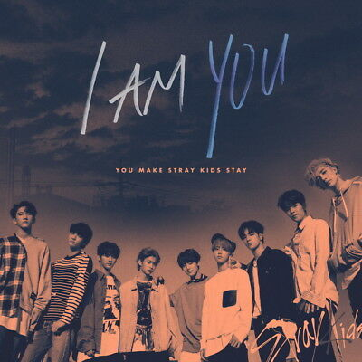 STRAY KIDS [I AM YOU] 3rd Mini Album 2 Ver SET+2ea PhotoBook+6p Card+GIFT SEALED