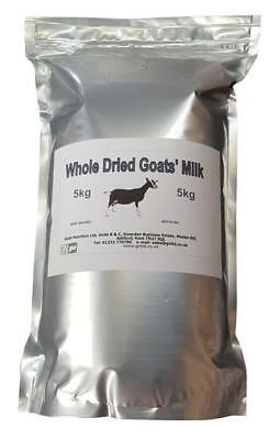 Whole dried goats' milk