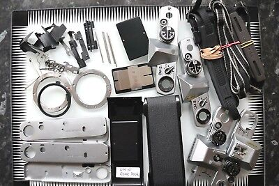 Olympus OM 35mm SLR Camera Parts job lot. Spare Parts. *Special Offer*  Read.
