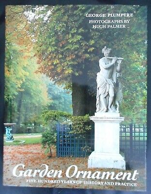 Book: Garden Ornament: Five Hundred Years - George Plumptre