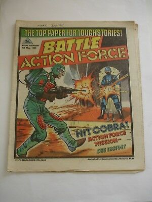 BATTLE ACTION FORCE  4th May 1985*