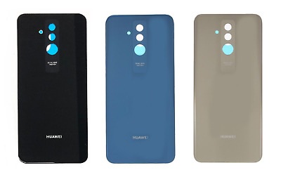 Replacement Huawei Mate 20 Lite Back Battery Rear Glass Cover With Adhesive