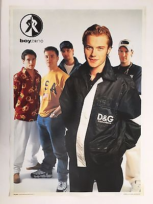 Boyzone,authentic,licensed To Underworld 1996  Poster