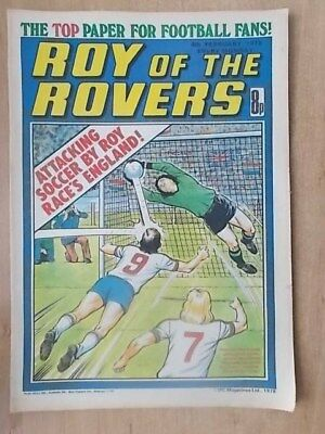 VINTAGE BOYS COMIC ROY OF THE ROVERS 4th FEBRUARY 1978
