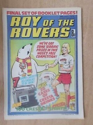 VINTAGE BOYS COMIC ROY OF THE ROVERS 29th JULY 1978