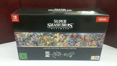 Nintendo Switch Super Smash Bros Ultimate Limited Edition New