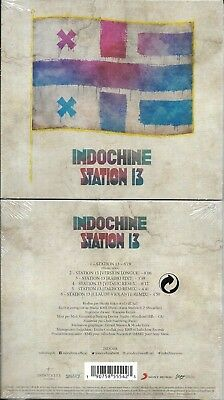 Cd Single Digipack 6 Titres Indochine Station 13 Neuf Scelle 2018