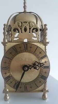 Large Lantern Carriage Clock Manufactured By Smiths Industries Ltd  Gt/ Britain