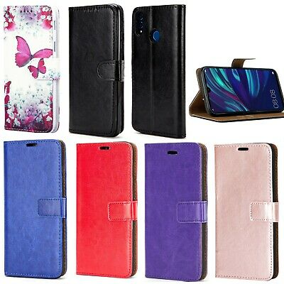 for Huawei P Smart (2019) Honor 10 Leather Book Wallet Smart Phone Case Cover