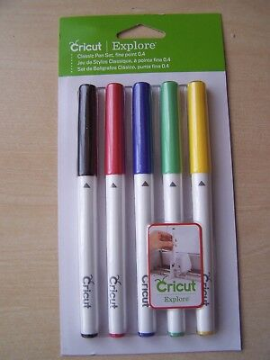 Cricut Explore - Pen Set - Classic - Fine Point 0.4