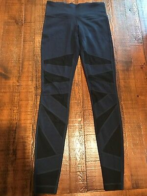 1d134359b020e Lululemon Sz 6 Tech Mesh Tight Wunder Under *Inkwell / Black Luon *28