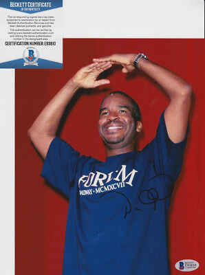 David Alan Grier In Living Color Signed Autograph 8x10 Photo Beckett BAS COA #1