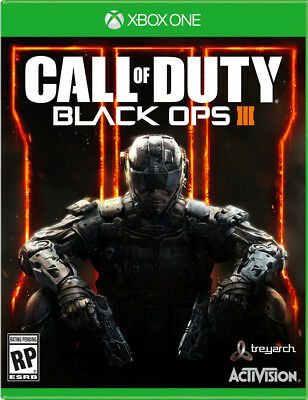 Call Of Duty: Black Ops III Standard Edition For Xbox One COD Shooter 4E