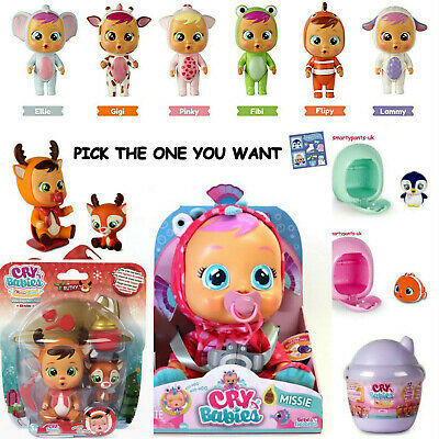 Genuine Cry Babies Magic Tears Brand New Doll And House Pick The One You Want