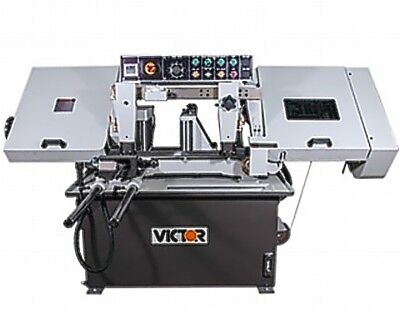 """10"""" W 10"""" H Victor AUTO-10HSV Horz Band Saw HORIZONTAL BAND SAW, AUTO ROLLER FEE"""