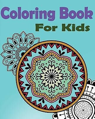 Coloring Book for Kids: Mandala: Stained Glass Coloring Book by Book, Gem