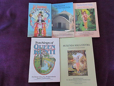 ISKCON LOT OF 5 books Gaudiya Vaishnava