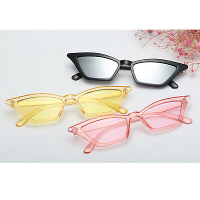 Eye Small Retro Cat Frame Summer Eyewear Sunglasses Women UV400 Fashion Vintage