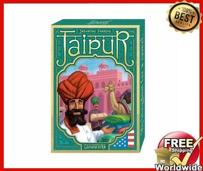 Jaipur Jewelry Trading Card Game English Version Board Game Family Friends Fun