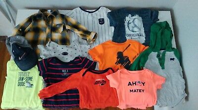 10d502887 BABY BOY WARM Clothes Lot Of 4 12M 12-18M EUC -  4.99