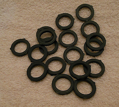 Lot of 18 American Made high quality garden hose washers