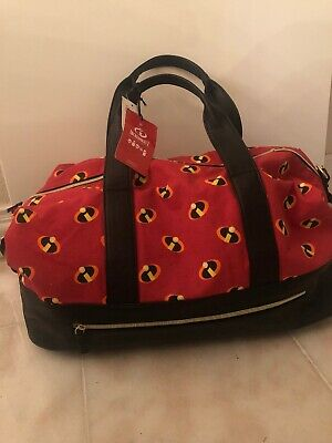84e07502829 New Her Universe Disney Pixar The Incredibles Logo Duffel Bag 18