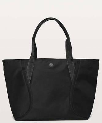 cc3f184a46 LULULEMON WOMEN S OUT Of Range Tote Bag Black Carry All NEW ...
