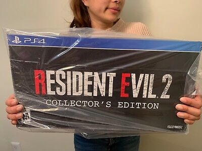 Resident Evil 2 Collector's Edition Gamestop Exclusive PS4 PlayStation