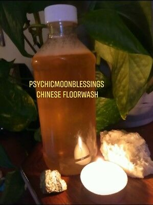 CHINESE FLOOR WASH Conjure Hoodoo Authentic Magick Money Rootwork Luck  Cleanse
