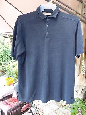 Men's Clothing Clothing, Shoes & Accessories Tommy Bahama Sz Large Polo Shirt Short Sleeve Blue