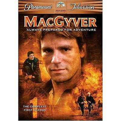 MacGyver - The Complete First Season (DVD, 2005, 6-Disc Set) Brand New/SEALED*