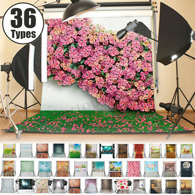 36 Types 3x5ft Studio Photo Photography Backdrop Wood Wall Floor Background  ES