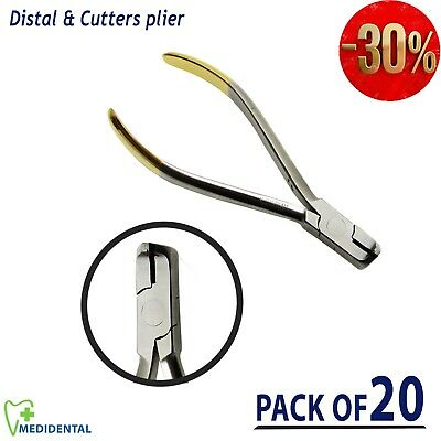 Distal Wire Cutter TC Ortho Cut & Hold Pliers Wire Cutting instrument pack of 20
