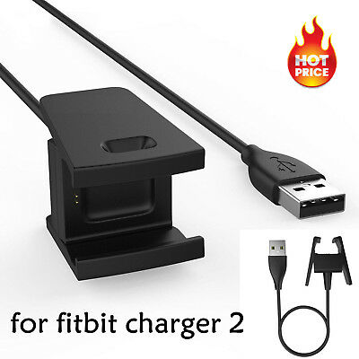 Charger Fits For Fitbit CHARGE 2 Activity Wristband USB Charging Cable Cord Wire