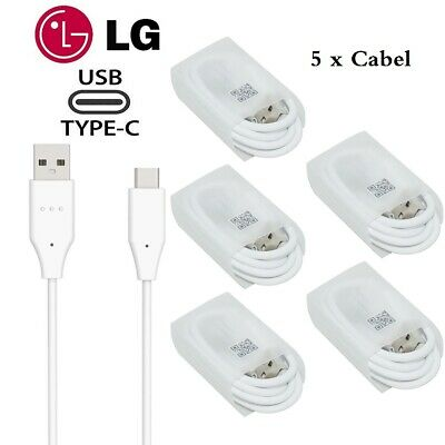 OEM Lot Fast Charging USB Type-C Data Charger Cable For LG G5 LG6 G7 / V20 30 40