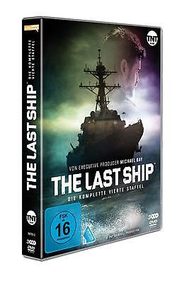 The Last Ship - Complete Season 4 Fourth TV Series -Eric Dane NEW UK R2 DVD PAL