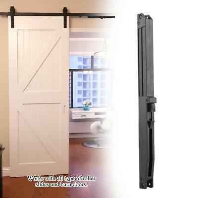 Soft Close Mechanism For Sliding Barn Door Hardware Track Kit Remission Black