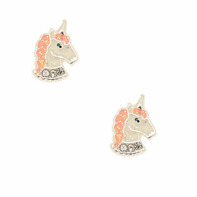 821af90bf CLAIRE'S GIRL'S UNICORN Magnetic Stud Earrings Silver - £5.00 ...