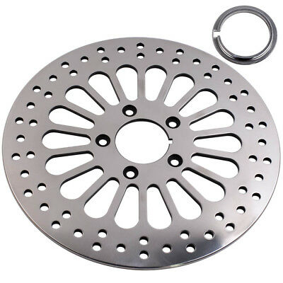 "11.5"" Front Disc Brake Rotor For Harley Dyna Sportster Softail 1984-2013 5 holes"