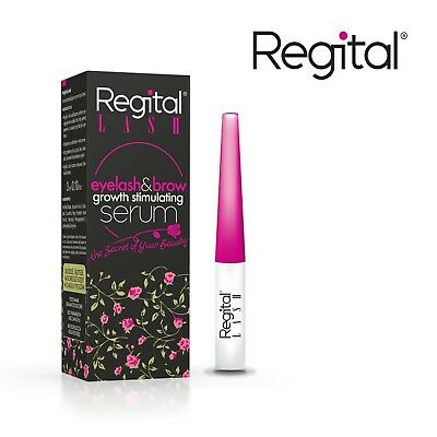 Regital Lash Eyelash Brow Growth Stimulating Serum Enhancer Natural Ingredients
