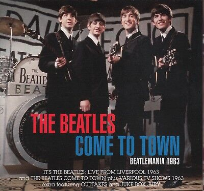 "The Beatles "" Come To Town, Cd+Dvd Digipack"""