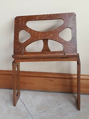 The Bershaw vintage folding book rest