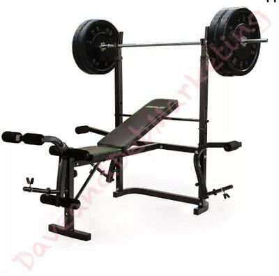 7in1 Weight Bench Press Home Gym Leg Curl Equipment Multi-Station Strength Train