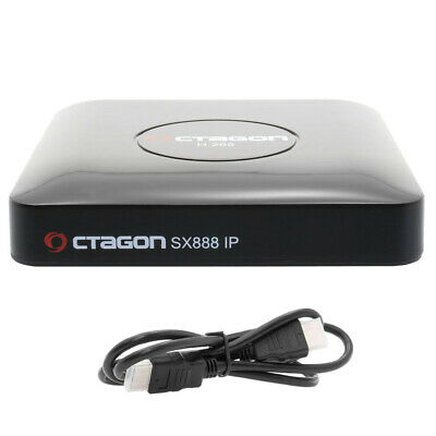 Octagon SX888 IP HD Stalker IPTV Mini Receiver YouTube Playlist VOD Xtream WebTV