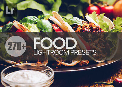 270+ Food Lightroom Presets for Pc and Mac ( Fast Email Delivery )