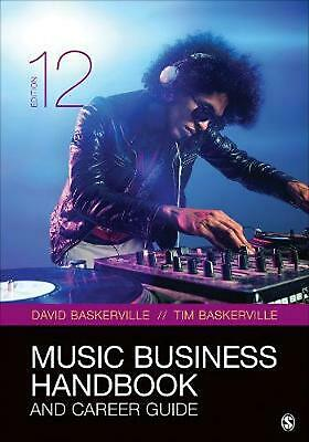 Music Business Handbook and Career Guide by David Baskerville Paperback Book Fre
