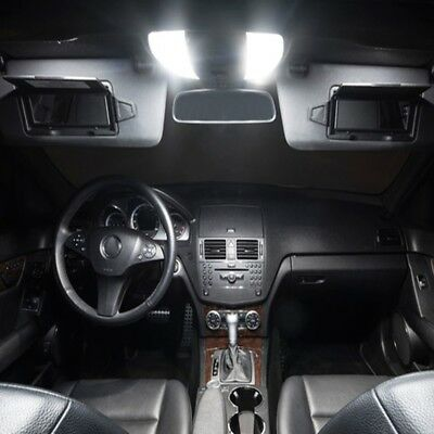 Mercedes C Klasse W204 5 LED Innenraumbeleuchtung Set Premium S WEISS VH
